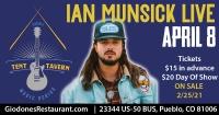 Giodone's Tent Tavern Presents Ian Munsick