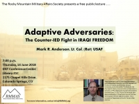 Adaptive Adversaries:  The Counter-IED Fight in OIF