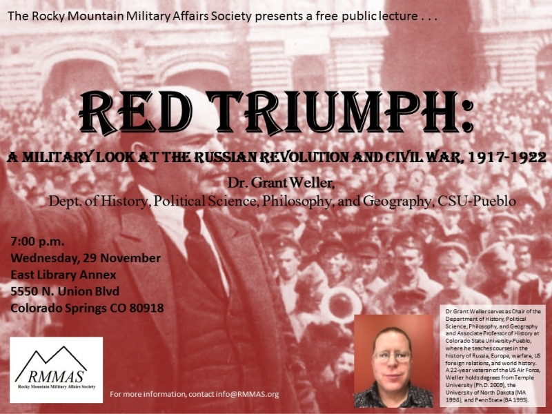 Red Triumph Military Look At The Russian Rev Civil War