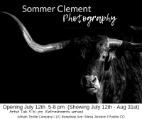 Sommer Clement Photography Opening Reception