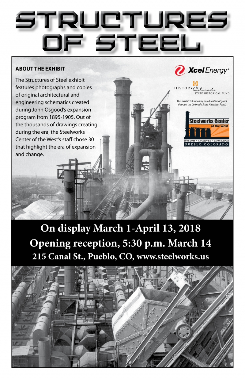 Structures Of Steel Opening Reception 03 14 2018 Pueblo Colorado Architectural Engineering Schematics