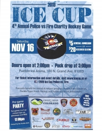 4th Annual Ice Cup Police vs Fire Charity Hockey Game
