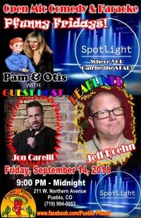 Comedy/Karaoke Pueblo Pfunny Pfridays