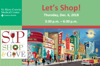 Sip, Shop & Give