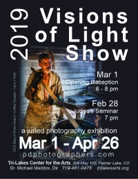 Call to Artists: Visions of Light 2019