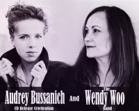 Audrey Bussanich and Wendy Woo