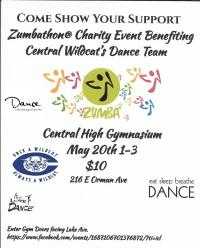 Zumbathon® Charity Event for Pueblo Central Dance Team