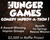 Hunger Games Comedy Improv-A-Thon