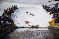 Monarch Mountain's Kayaks On Snow