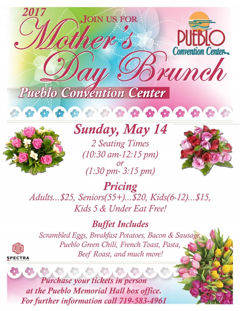 Mother\'s Day Brunch 05/14/2017 Pueblo, Colorado, Pueblo Convention ...