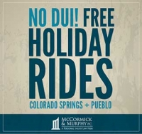 No DUI! Free Holiday Rides in Colorado Springs/Pueblo
