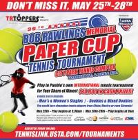 39th annual BOB RAWLINGS MEMORIAL Paper Cup tennis tournament