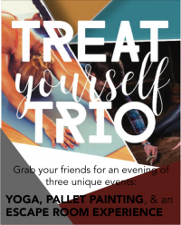 Treat Yourself Trio - SoCo Escape Room   Studio Share