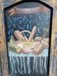 Fresh bread Bakery at El Vergel