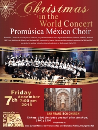 "The Wonderful Choral Concert ""Christmas in the World"""