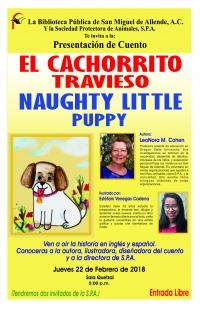 presentacion de cuento infantil  naughty little puppy