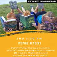 Inspire Readers: Kids Book Discussion