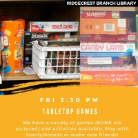 Fun Friday: Tabletop Games
