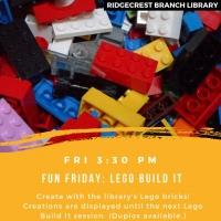 Fun Friday: Lego Build It