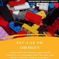 Super Saturday: Lego Build It