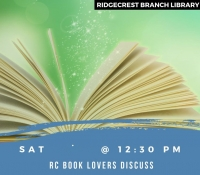 RC Book Lovers Book Discussion