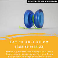 Yo-yo Tricks with Jose