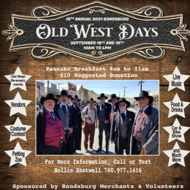 19th Annual Old West Days