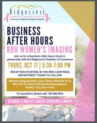 Business After Hours RRH Woman's Imaging