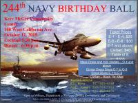 244th NAVY Birthday Ball