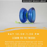 Yo-yo Tricks with Jose