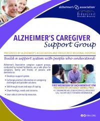 Alzheimer's Caregiver Support Group