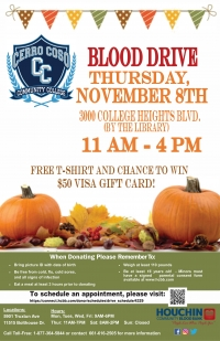 Cerro Coso Community College Blood Drive