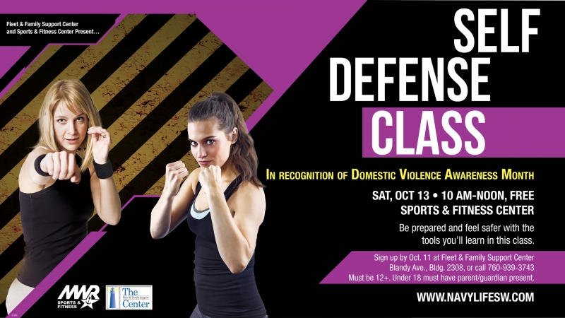 Self Defense Class (free event) 10/13/2018 China Lake, , Sports