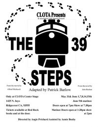 CLOTA Presents: The 39 Steps