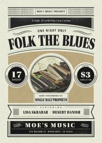 Folk The Blues