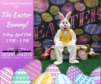 THE EASTER BUNNY! Come Capture a Moment