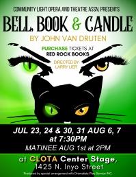 CLOTA Presents Bell Book & Candle