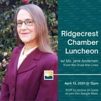 Ridgecrest Chamber of Commerce Virtual Luncheon