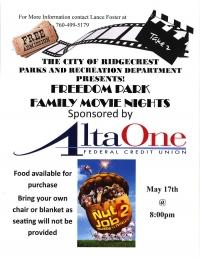 Freedom Park Family Movie Night