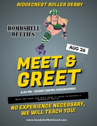 Ridgecrest Roller Derby Meet & Greet