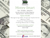 Money Smart for Older Adults presented by Senior Money Talks