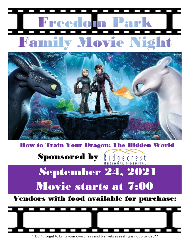 Freedom Park Movie Night