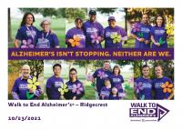 2021 Ridgecrest Walk to End Alzheimer's