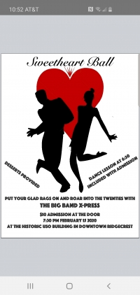 SweetHeart Ball featuring The Big Band Xpress.