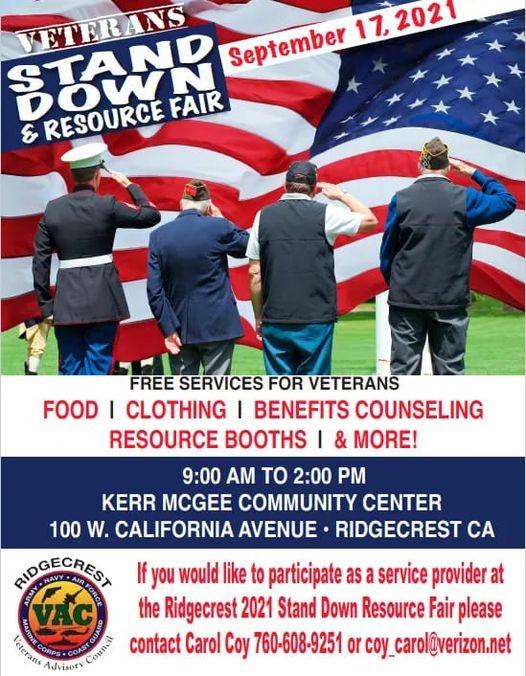 Veterans Stand Down & Resource Fair