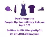 Purple Up! Day