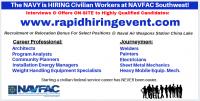 NAVFAC Southwest Rapid Hire Event