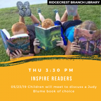 Inspire Readers: Child Book Discussion