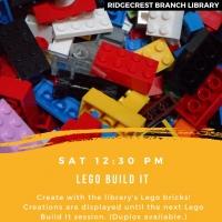 Lego Build It