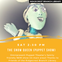"Omnipresent Puppet Theater ""The Snow Queen"""